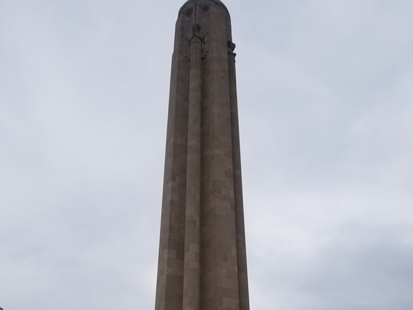 The Liberty Memorial in downtown Kansas City, MO