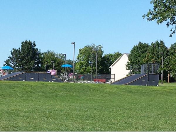 Skate Park at the Grain Valley Community Center