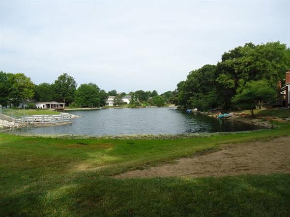 Beautiful lake in Oak Tree Meadows....