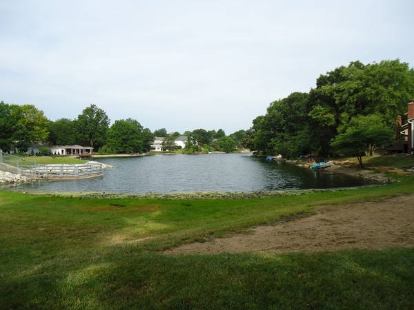 Beautiful lake in Oak Tree Meadows....