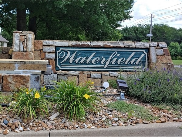 Waterfield is a beautiful, well sought after neighborhood in Blue Springs