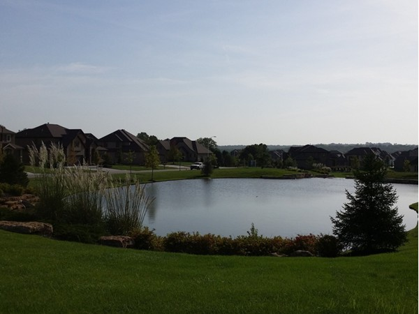 A beautiful view at the WatersEdge Estates