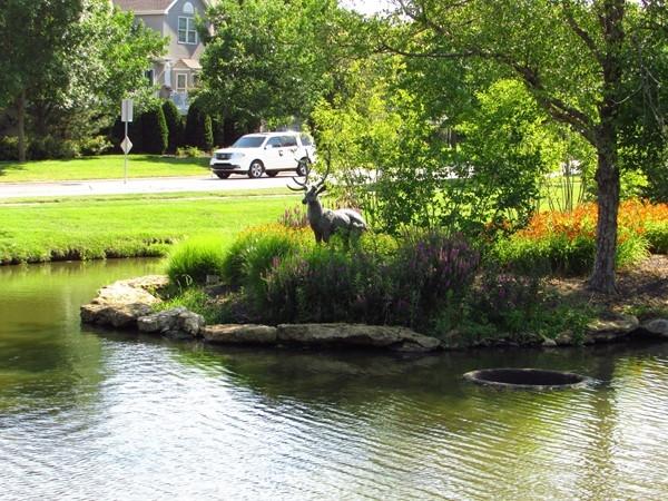 Deer Creek statuary