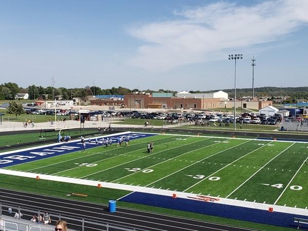 Grain Valley's new football field
