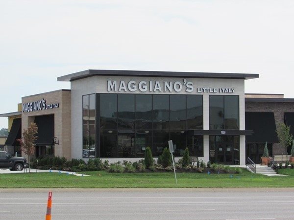Maggiano's is located nearby