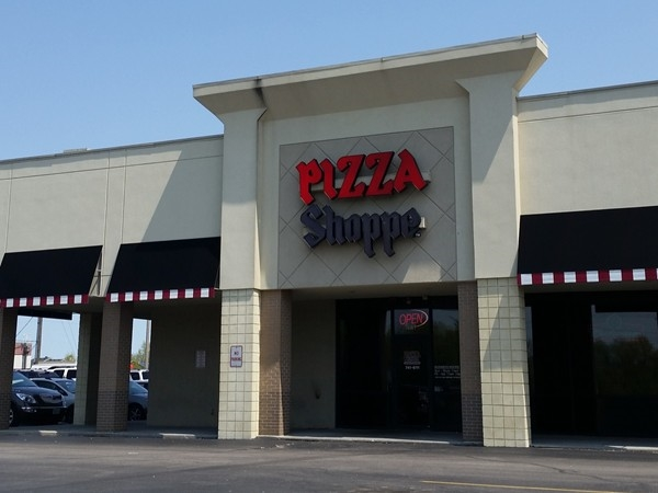 The Pizza Shoppe, one of the best family owned pizza places around!  Don't forget the Pink Stuff