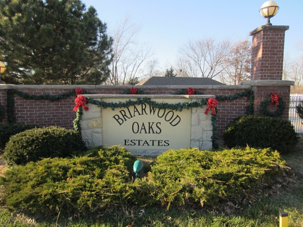 Celebrating the holiday season at Briarwood Oaks Estates in Blue Springs