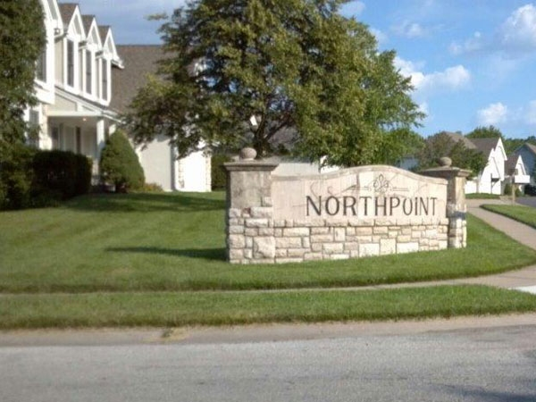 Entrance to Northpoint subdivision