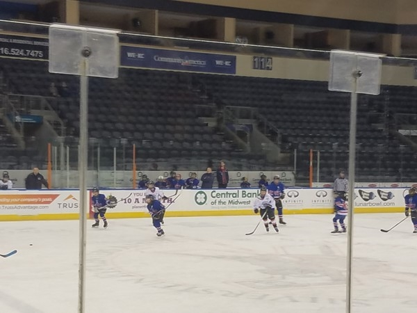 Youth Hockey on the KC Mavericks rink
