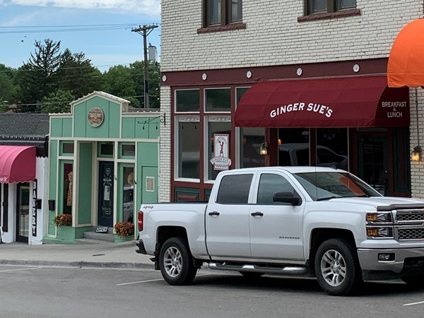 Ginger Sue's is a great place to meet your friends for breakfast or lunch