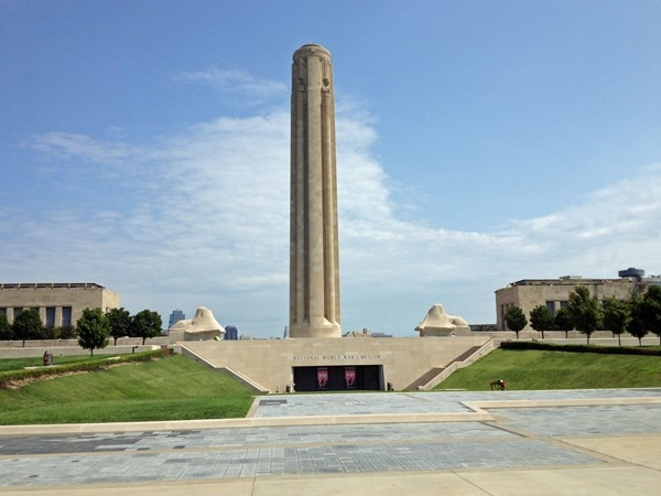 The Liberty Memorial commemorates and remembers our fallen soldiers who fought in WWI