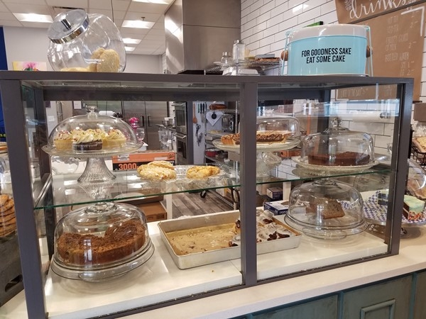 The Laughing Place Bakery in Gladstone - Desserts almost too pretty to eat!  Almost