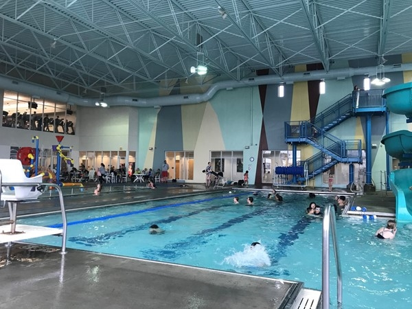 Cold day? Doesn't matter! Lees Summit indoor pool at Legacy Park fixes that