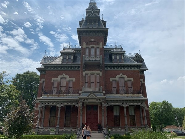 Toured the awesome Vaile Mansion