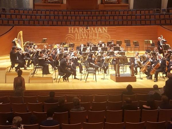 The San Francisco Symphony at the beautiful Kauffman Center