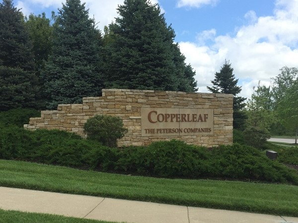 Entrance to Copperleaf in the Northland