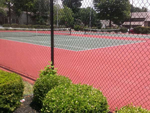 Add a little racquet to your summer at the Brooktree Tennis Courts