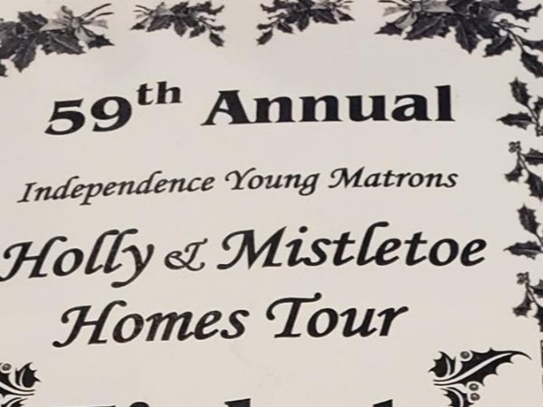 Don't miss the Holly & Mistletoe Annual 60th Homes Tour next year!  Beautifully decorated homes