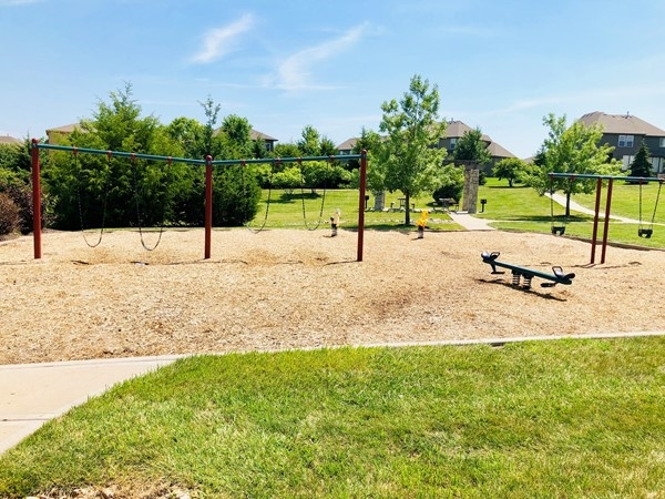Play area in Forest View, just one of the many amenities