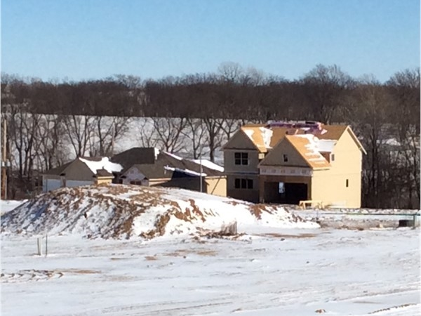 A little snow and cold weather won't stop our new homes from being ready for you this spring
