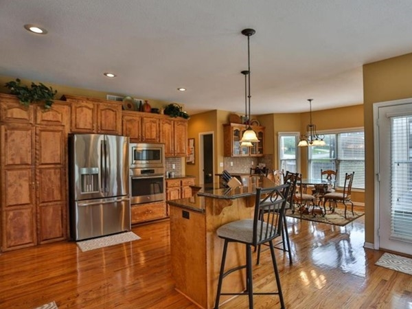 A big kitchen for entertaining at Rock Hill Subdivision
