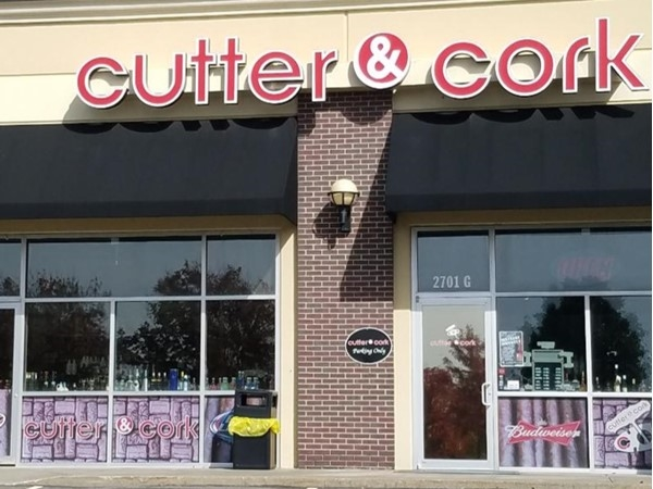 Looking for liquor or smokes? Stop on by Cutter and Cork