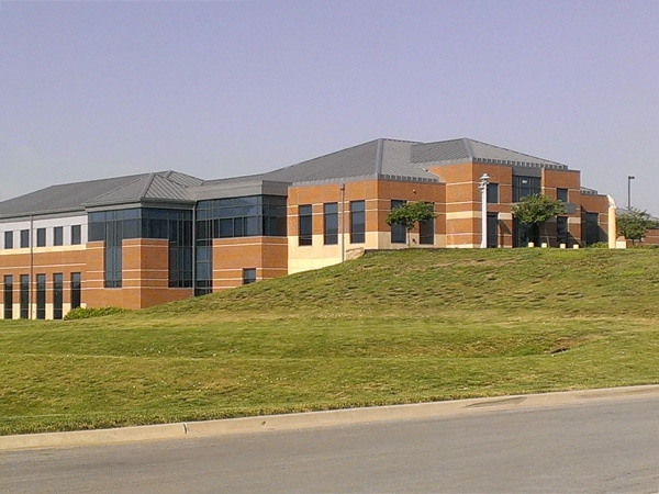 The Kansas City Northland Shoal Creek Police Patrol Building near Pleasant Valley