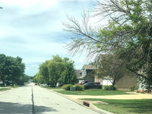The quiet and well-maintained neighborhood of Quail Haven