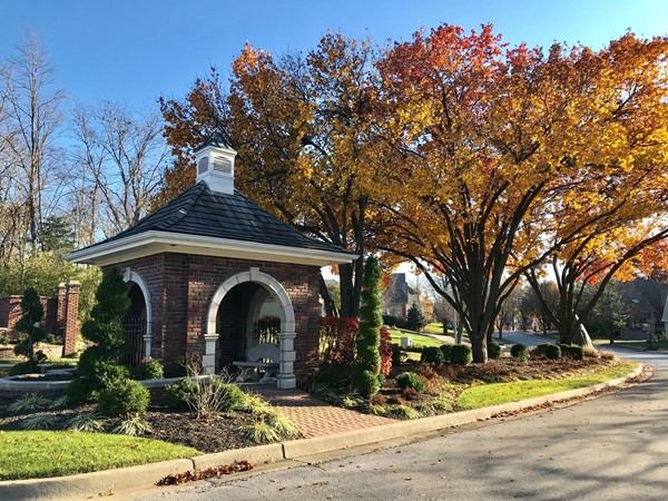 Gatehouse during the fall