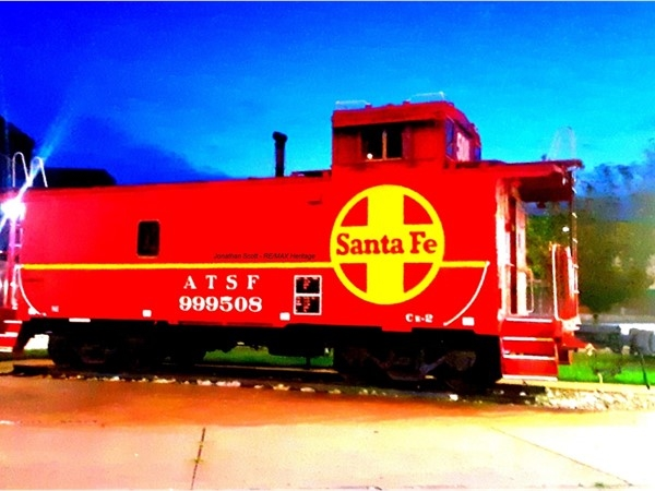No longer used, a caboose provided accommodations for train crews