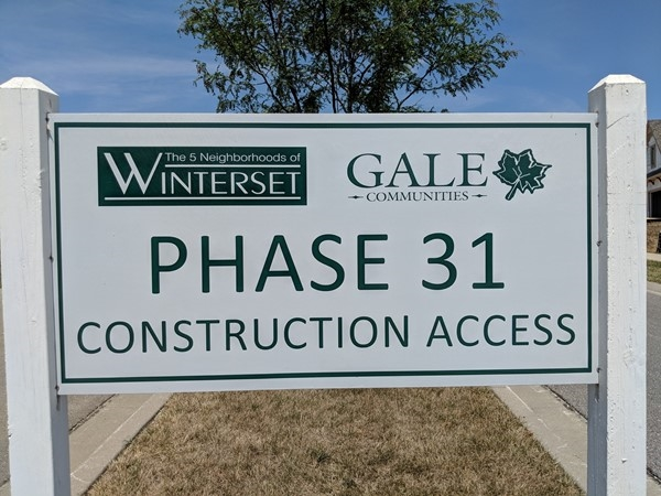New homes in Winterset Valley ranging from $450-700k