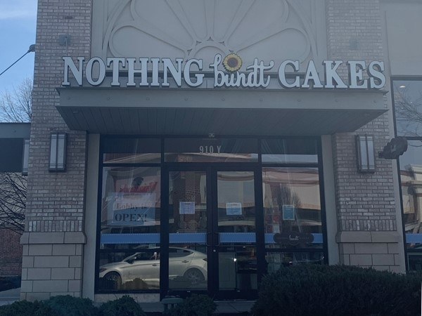 Make sure to stop in at Nothing bundt Cakes for a sweet treat while shopping