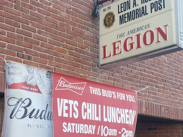 Great, free lunch for Veterans on Saturday