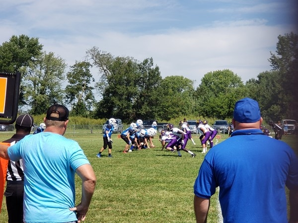 Our boys of fall are starting to work as a team with 10 new players in the 7th grade