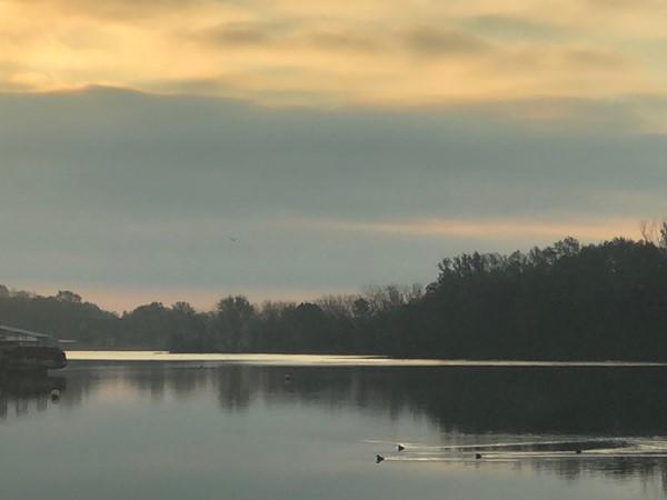 Gorgeous, calm morning at Lake Winnebago