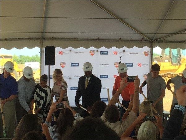 Gateway Village groundbreaking