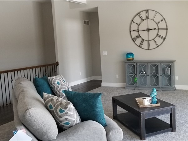 The model home at Windwill Creek in Platte City