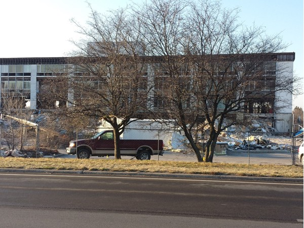 MCI Hospital being torn down so City of Independence can build.