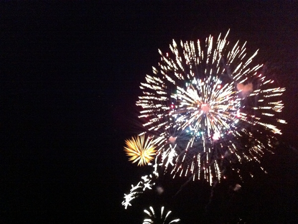 Fireworks held on Friday, June 28, 2013