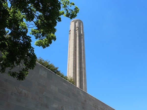 The National WWI Museum and Memorial in Kansas City, also known as Liberty Memorial.