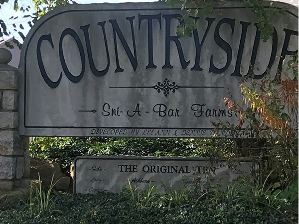 Countryside entrance at Sni-A-Bar Farms! Home sweet home