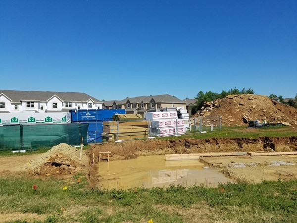 Lots of new construction happening at Rock Creek Townhomes