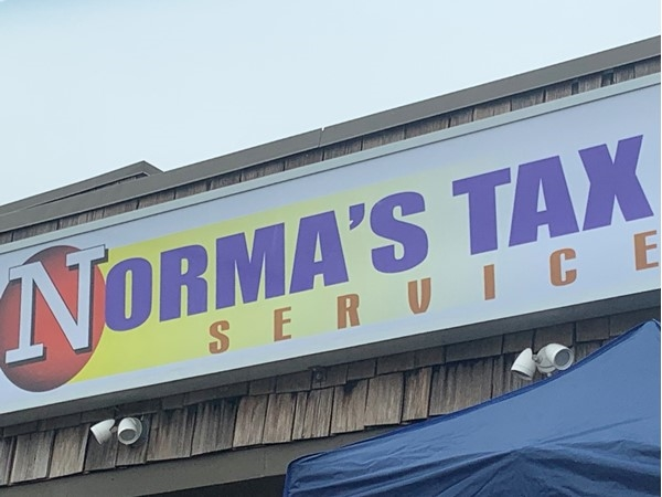 Norma's Tax Service. Support local