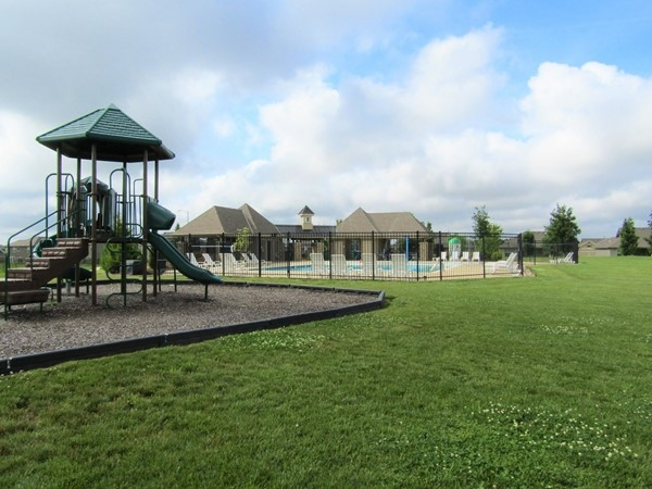 Enjoy coming to the playground area and share with your neighbors and friends