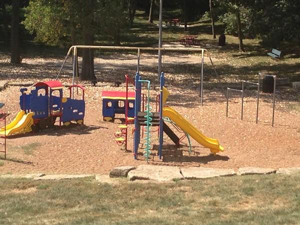 Monticello's community park.