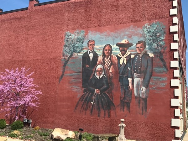 Mural in Downtown Leavnworth