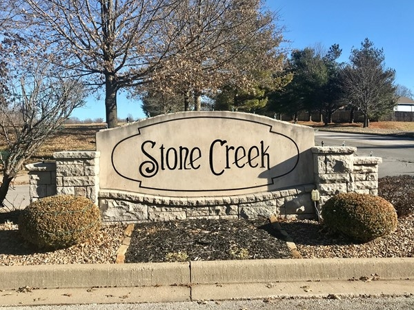 Stone Creek subdivision, a stellar Blue Springs community