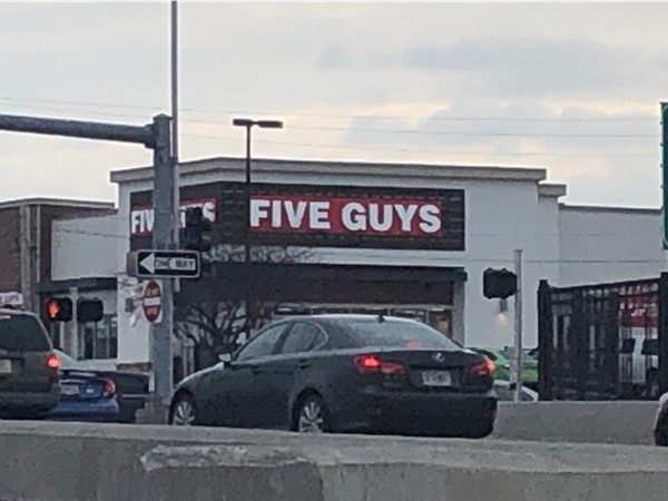 Who doesn't love Five Guys!? Have you visited the new location off the Noland Rd Exit?