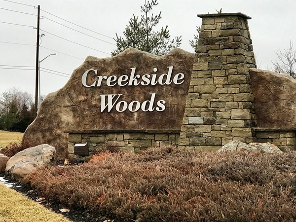 Creekside Woods subdivision, Lenexa, KS