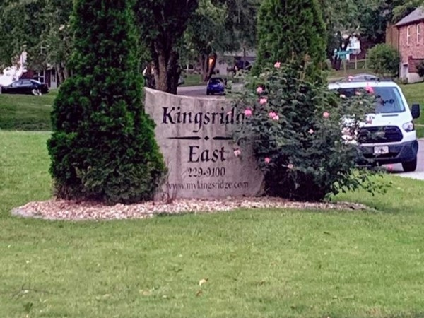 Entrance to Kingsridge East